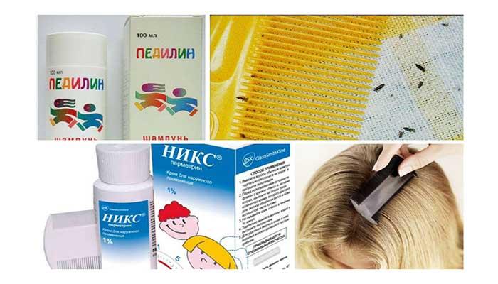 Препараты против вшей