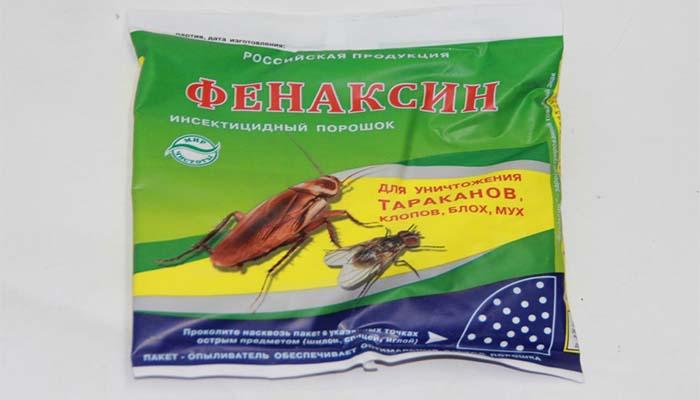 При наличии большого количества тараканов в квартире рекомендуется сочетать Фенаксин с другими инсектицидными средствами