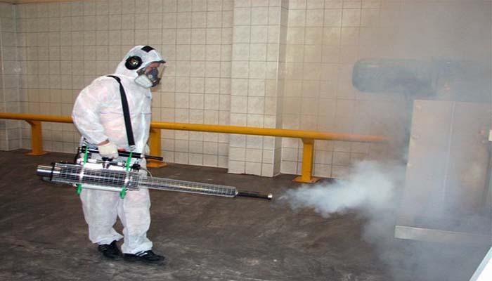 Холодный туман - наиболее эффективный метод борьбы с насекомыми